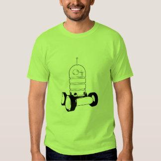 robô da velha escola tshirts