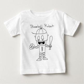 Robô do basebol tshirt