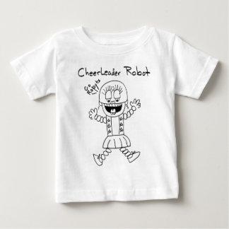 Robô do cheerleader t-shirt
