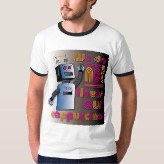 Robô irritado camiseta