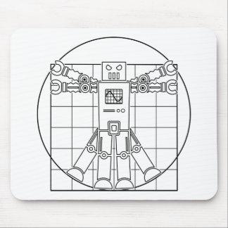 Robô Mousepad de da Vinci Vitruvian