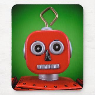 Robô vermelho Mousepad