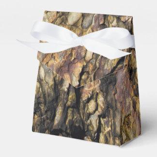 Rocha abstrata orgânica caixinha de lembrancinhas