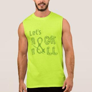 ROCHA & camisas & jaquetas do ROLO Camiseta Sem Manga