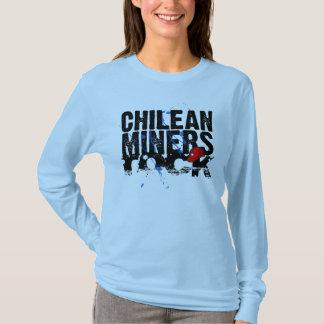 Rocha chilena dos mineiros! camiseta