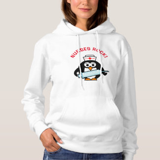 ROCHA DAS ENFERMEIRAS! O hoodie das mulheres T-shirt