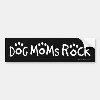 Rocha das mães do cão adesivo para carro