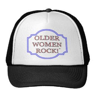 Rocha das mulheres mais idosas boné