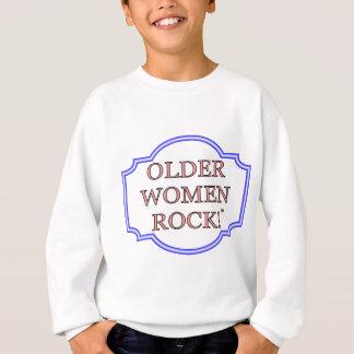 Rocha das mulheres mais idosas camisetas