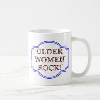 Rocha das mulheres mais idosas caneca