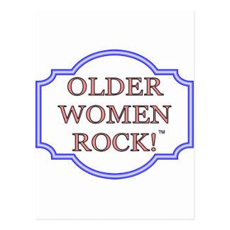 Rocha das mulheres mais idosas cartão postal