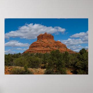 Rocha de Bell em Sedona, poster 6522 da arizona
