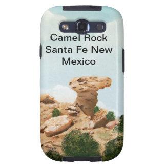Rocha do camelo - pintura a óleo de Santa Fé, New  Capinhas Samsung Galaxy S3
