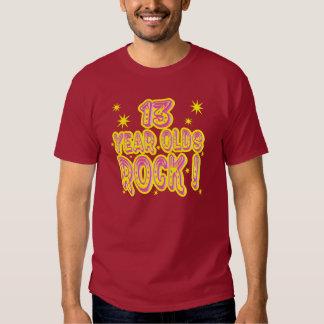 Rocha dos adolescentes de 13 anos! T-shirt