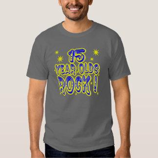 Rocha dos adolescentes de 15 anos! T-shirt (do