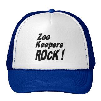 Rocha dos depositários de jardim zoológico! Chapéu Boné