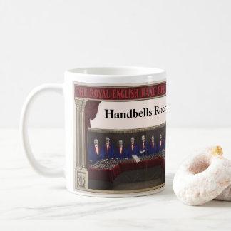 Rocha dos Handbells - imagem real da orquestra do Caneca De Café