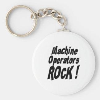 Rocha dos operadores de máquina! Chaveiro