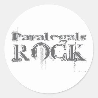 Rocha dos Paralegals Adesivos Redondos