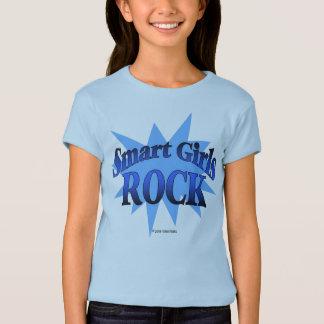 Rocha esperta das meninas - camisa azul