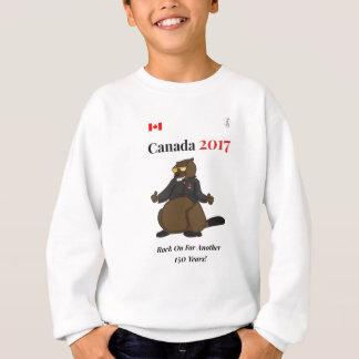 Rocha legal de Canadá 150 em 2017 sobre Agasalho