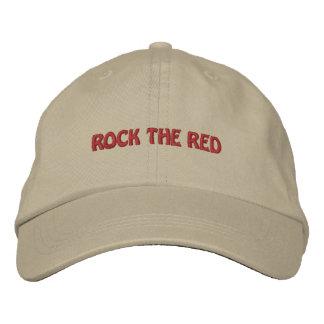 Rocha personalizada da eleição o chapéu bordado ve boné bordado