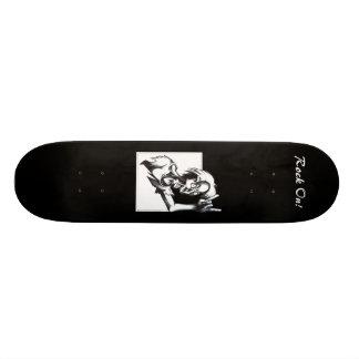 Rocha sobre! skate
