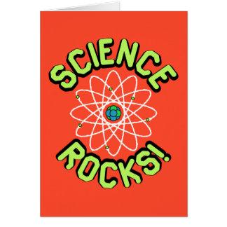 Rochas da ciência! Nota & cartões