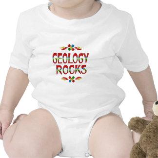 Rochas da geologia macacãozinho para bebê