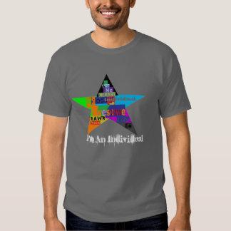 Rochas da individualidade: Camisa 2 Tshirts