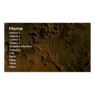 Rochas da pedreira cartão de visita