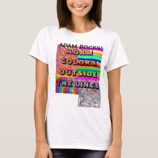Rochas de Adam! Camiseta