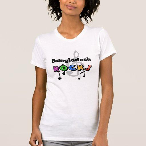 Rochas de Bangladesh Camiseta