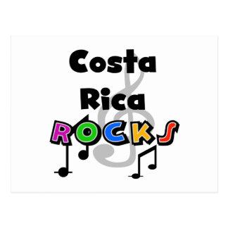 Rochas de Costa Rica Cartão Postal