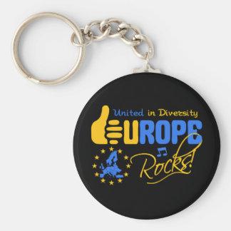 Rochas de Europa! chaveiro