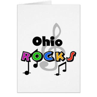 Rochas de Ohio Cartão Comemorativo