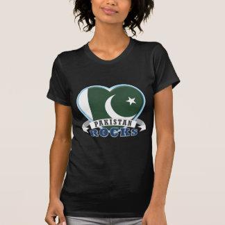 Rochas de Paquistão T-shirts