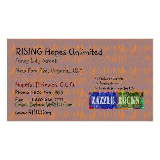 ROCHAS de ZAZZLE - produtos da saúde do de alta Cartão De Visita