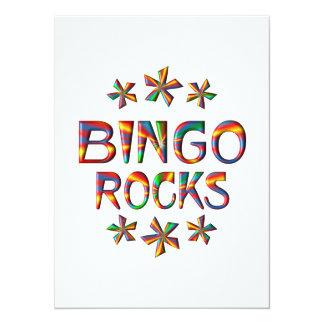 Rochas do Bingo Convite 13.97 X 19.05cm