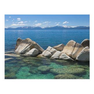 Rochas do leste da costa, Lake Tahoe… Cartão Postal