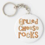 Rochas grelhadas do queijo chaveiro