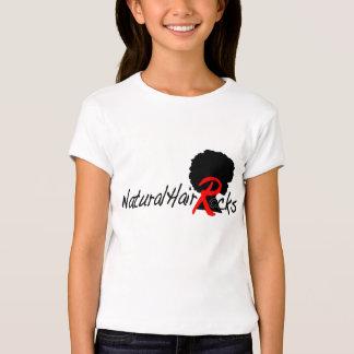 Rochas naturais do cabelo t-shirt