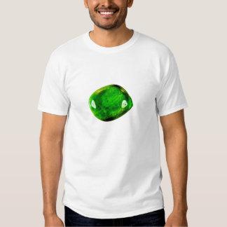 Rochas preciosas - verde refletido t-shirt