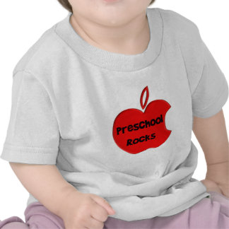 Rochas prées-escolar camisetas