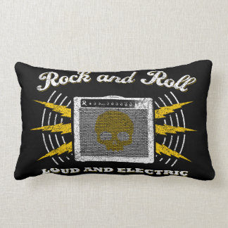 Rock and roll alto e elétrico. Travesseiro Almofada Lombar