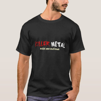 "Rock=Life do ""metal"" Punstar assassino Camiseta"