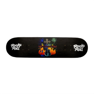 "RocknRoll - desenhista 7 3/8"" skate da plataforma"