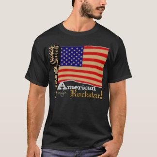 ROCKSTAR AMERICANO! por Live.Rock.Yell! Camiseta