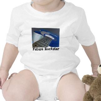 Rockstar futuro Onsie Macacãozinho Para Bebês