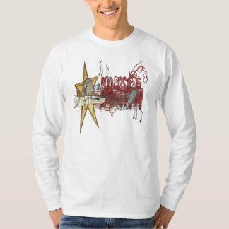 Rockstar - luva longa básica tshirt